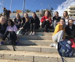 Geographers complete fieldwork expedition to Barcelona