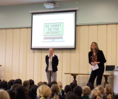 Pupils learn to stay safe online