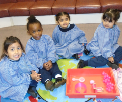 Nursery prepares for Pink Day