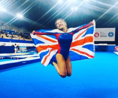 Amy competes in World Championships