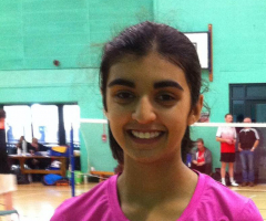 More medals for Year 10 badminton player