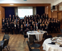 Sixth Form enjoy a special Afternoon Tea