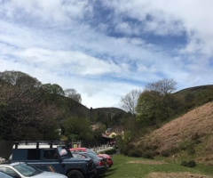 Geographers visit Carding Mill Valley