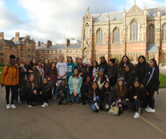 Year 9 students visit Oxford's Ashmolean