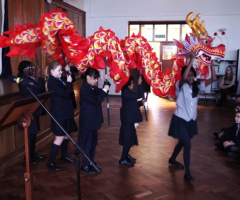 A celebration of Chinese New Year