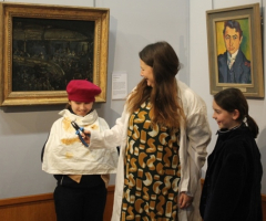 Art Historians visit Barber Institute