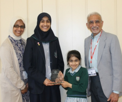 Pupils recognised for charitable contributions