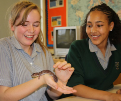 Year 8 get close to nature
