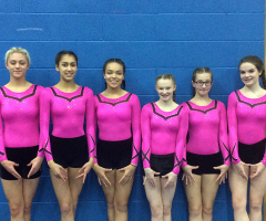Near Miss for EHS Gymnasts
