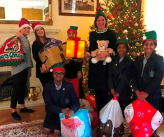 EHS supports Bham City Mission Toy Link