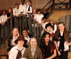 Pupils in the spotlight for 'Oliver!'