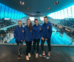 National swimming success!