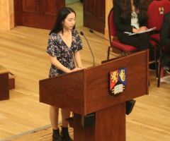 Poet Laureate returns for Speech Day