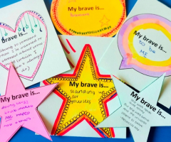 Pupils encouraged to 'Find your Brave'