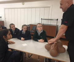 Year 7 learn about fire safety