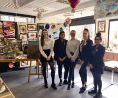 Artistry showcased at pop up exhibition