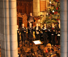 Carol service marks end of term
