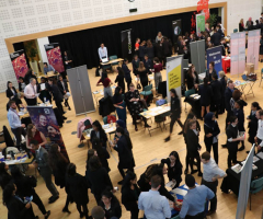 Successful careers fair promotes opportunity