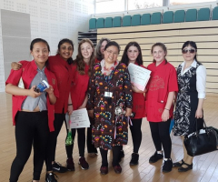 Success in national Mandarin Reading Competition