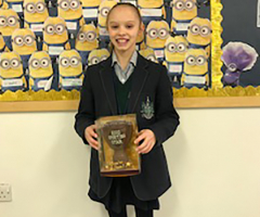 January 'Sporting Star' Mollie!