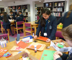 Crafty Christmas in the Library