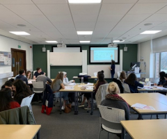 Classicists attend BMCA conference