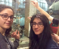 Science Students Study in London Museums