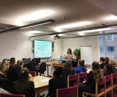 Project ASK careers talk for students