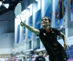Asmita competes at World Junior Badminton Championships