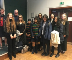 Classicists attend BMCA academic lecture