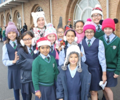 Bobble Hats in Support of Childline
