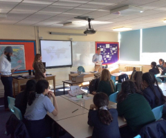 Old Girl delivers property and surveyance careers talk