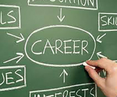 Girls Take Advantage of Careers Service