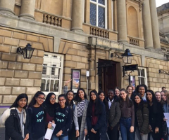 Classicists visit Roman town of Bath