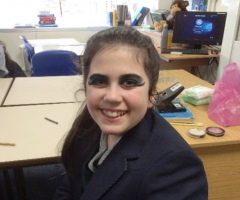 Cleopatra makeovers for Year 7