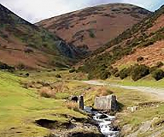 Geographers head to Carding Mill Valley
