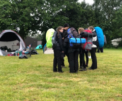 Girls prepare for DofE Bronze Award