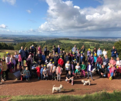Ramblers rally for Children in Need