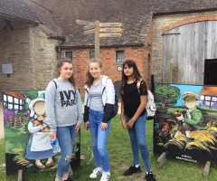 English students visit Stratford upon Avon