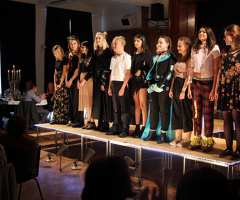 Textiles students stage glittering fashion showcase