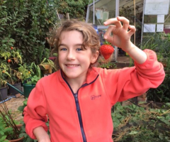 Harvest time at Gardening Club