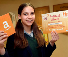 Gracie is Step into the NHS competition winner