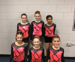 Promising performance from U13 gymnasts
