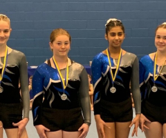Hard work continues to pay off for gymnasts