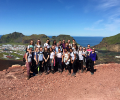 Geographers visit incredible Iceland