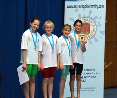 Swimmers are national finalists