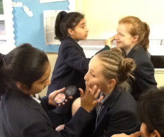 'New year, new you' - Year 7 have ancient makeovers!