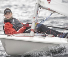 Megan's sailing success