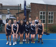 Netballers compete at Wrekin College