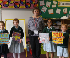 A visit from author Pippa Goodheart
